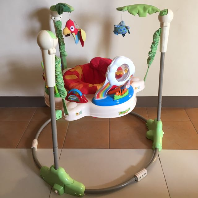 58fe703df Fisher Price Jumperoo Rainforest