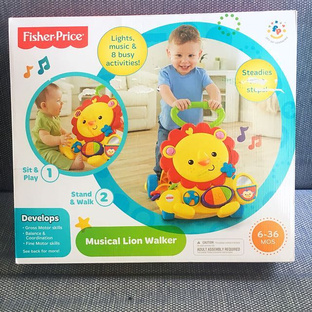 Home · Ntr Fisher Price Musical Lion Walker; Page - 2. photo photo