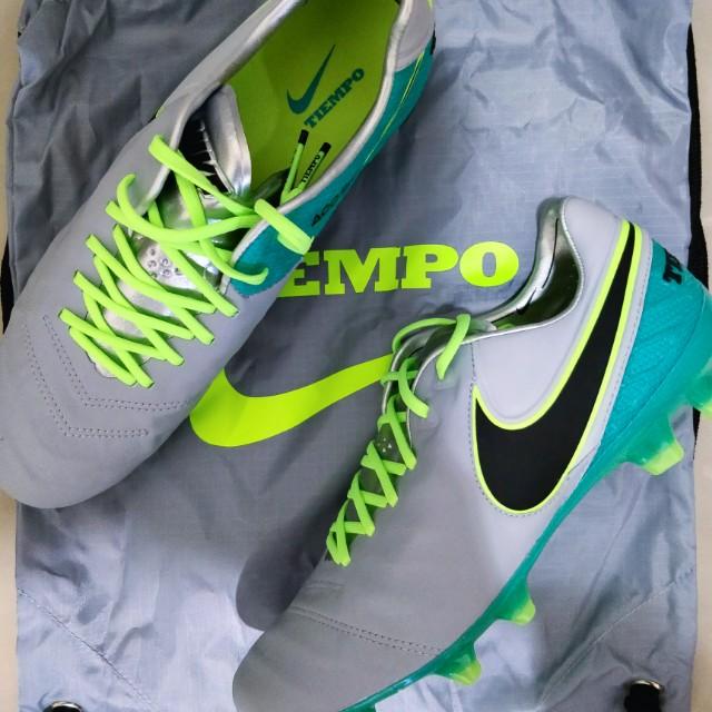watch b65d7 36b6b Football Boot Nike Tiempo Legend VI FG Wolf Grey
