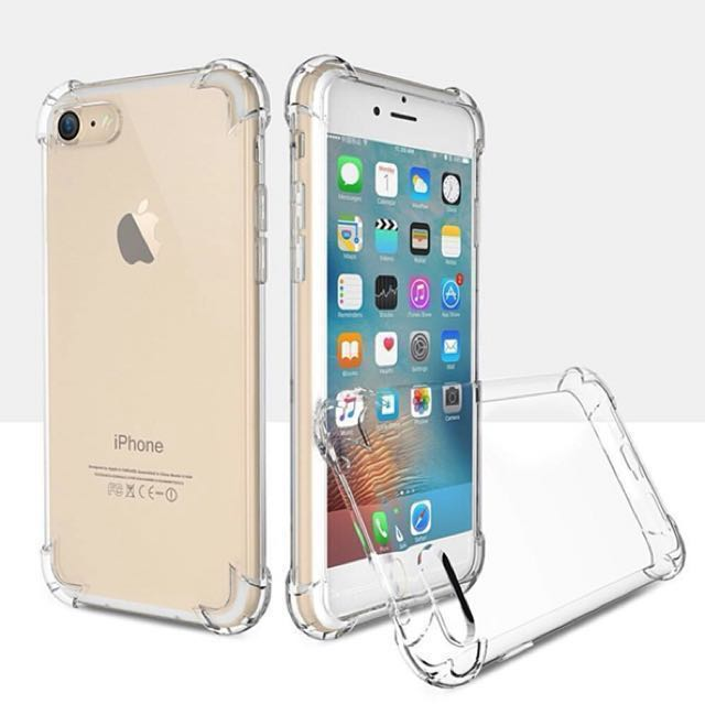 (For iPhone 6/6+/7/7+) Clear Anti-crack Protective iPhone Soft Case P49.00, Mobile Phones & Tablets, Mobile & Tablet Accessories, Cases & Sleeves on ...