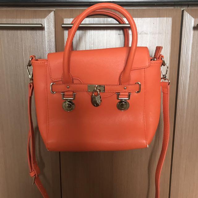 Forever New Orange handbag