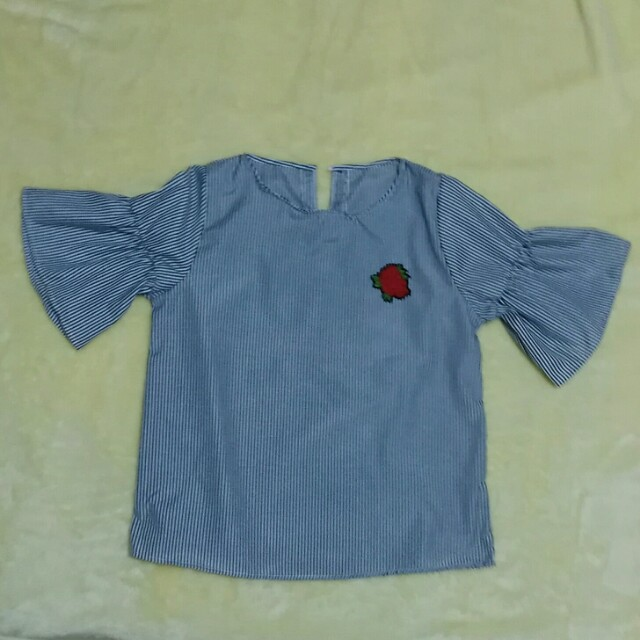 Formal top stripe w/ patch