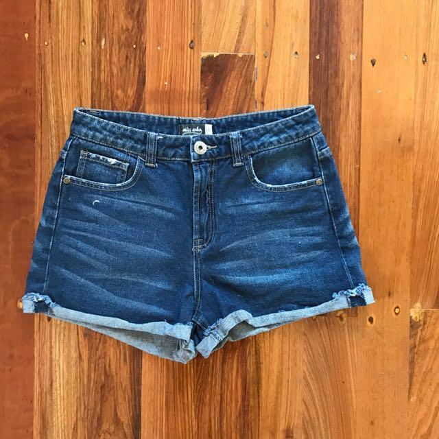 Glassons Denim Shorts - size 10
