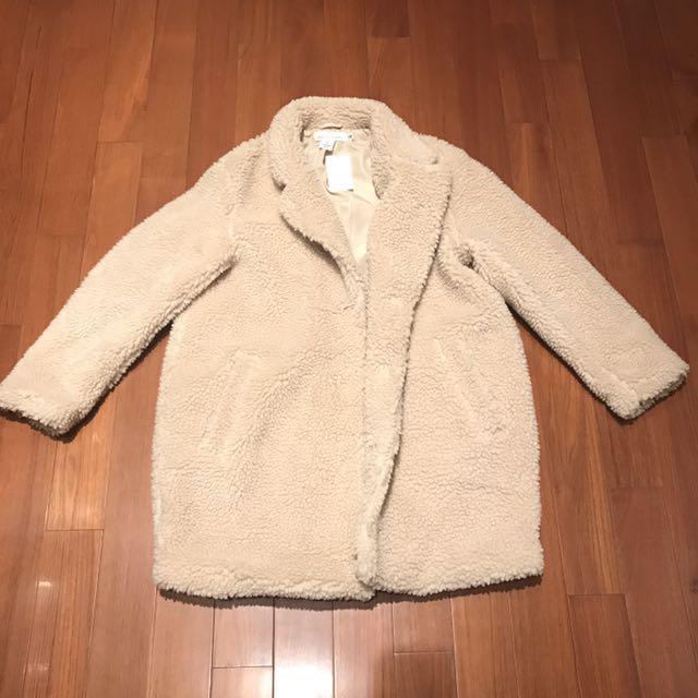 H&M Pile Jacket Coat