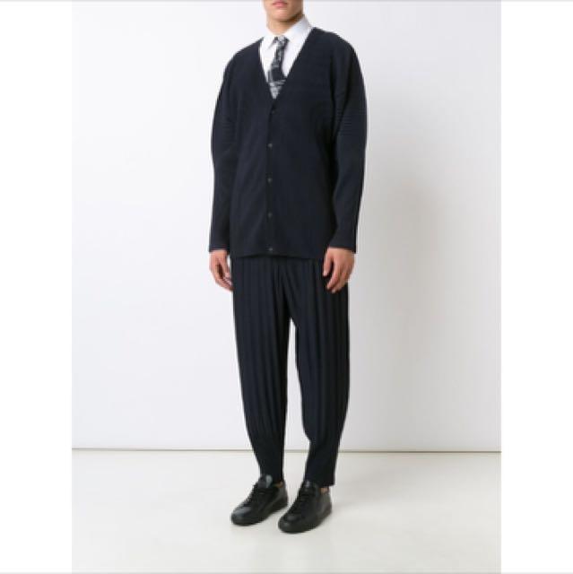 Homme Plisse Issey Miyake 黑色長褲