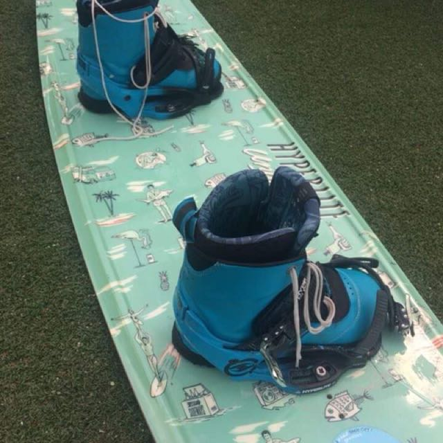 Hyperlite Board and System bindings with boots