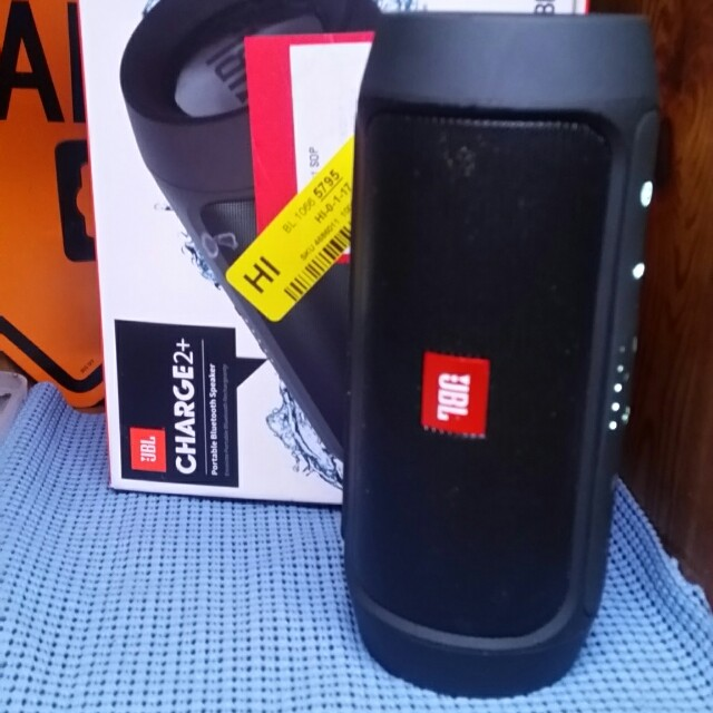 JBL Charge 2 + Bluetooth speaker splash-proof