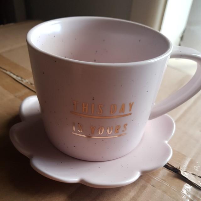 Kikki.k cup and saucer