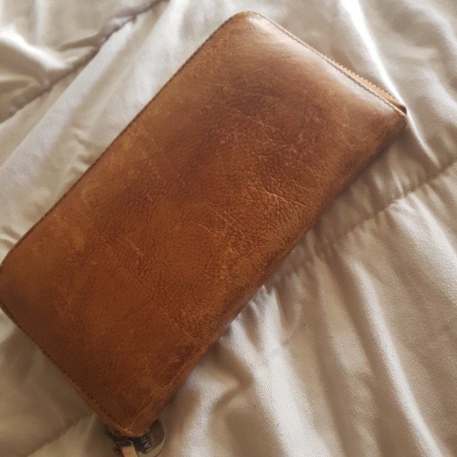 Ladies BARE leather Wallet