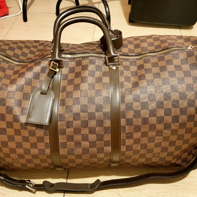 Louis Vuitton Keepall 60 Damier ebene in Authentic grade replica