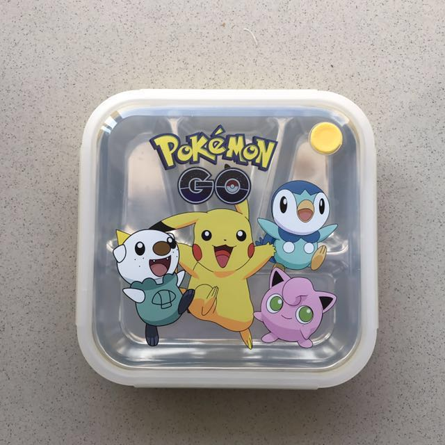 Lunch box Stainless steel Pokemon