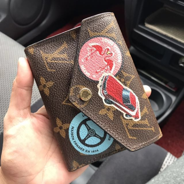 aee76f98ebbb7 LV victorine wallet world tour limited edition, Luxury, Bags & Wallets on  Carousell