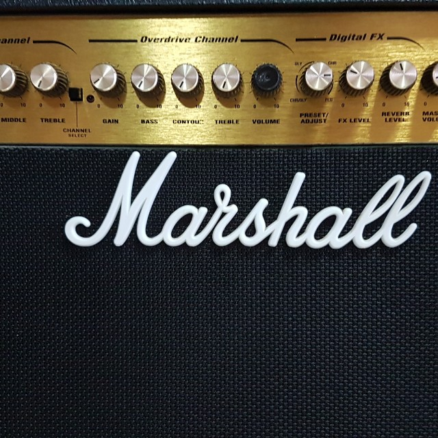 Wonderbaarlijk Marshall Mg50dfx Guitar Amplifier, Electronics, Audio on Carousell HZ-54