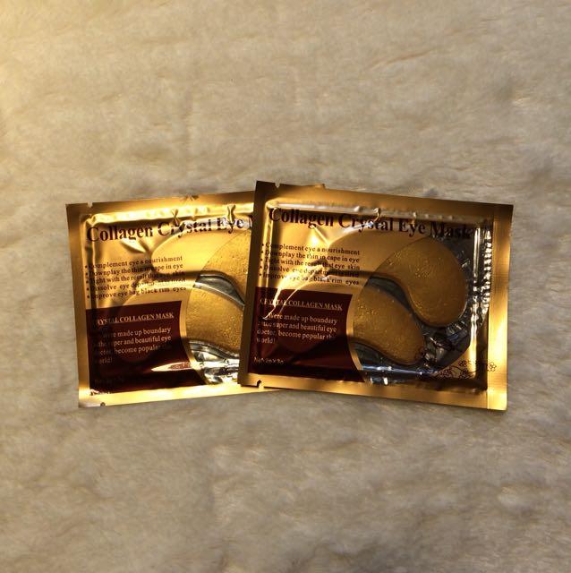 Masker Mata Gold Collagen