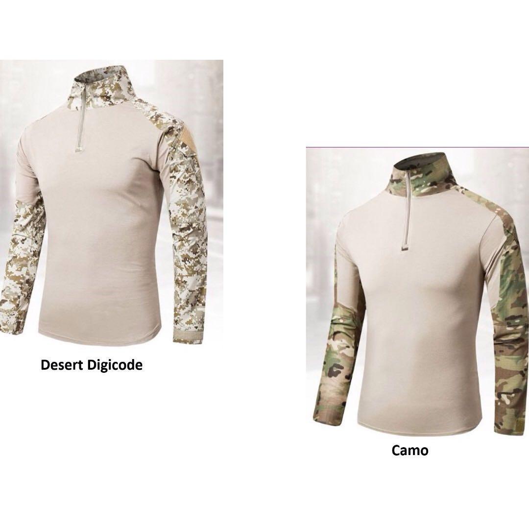 Men - Long Sleeve Combat Tactical Shirt MT5078