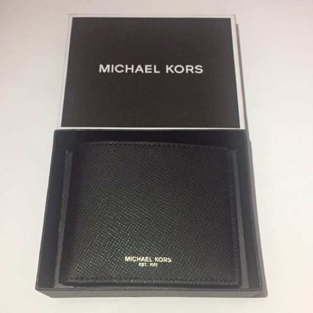 Michael Kors Men Bifold Black