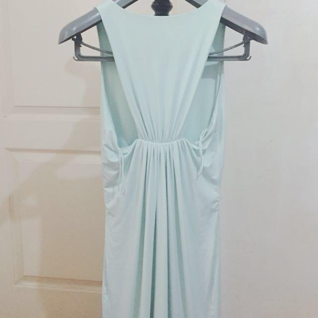 Mint Dress Renowned designer Pia Gladys Perey