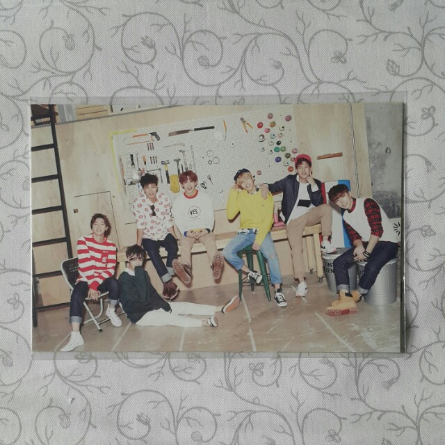 Monsta x 1st Gen Fan Membership Postcard