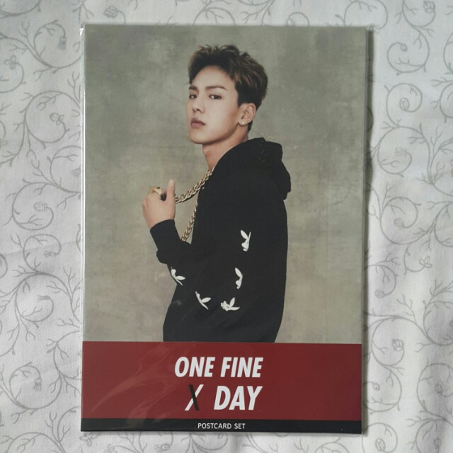 Monsta X : One Fine Day Postcard