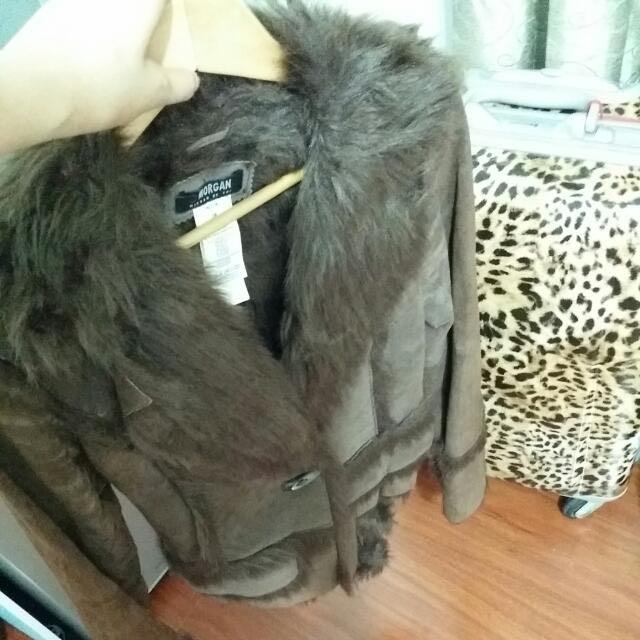 (限期大特價🎉🎉)MORGAN 正品 真皮外套