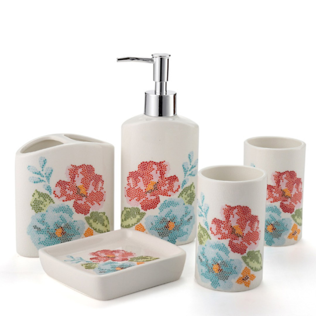 Mosaic Oriental Bathroom Set