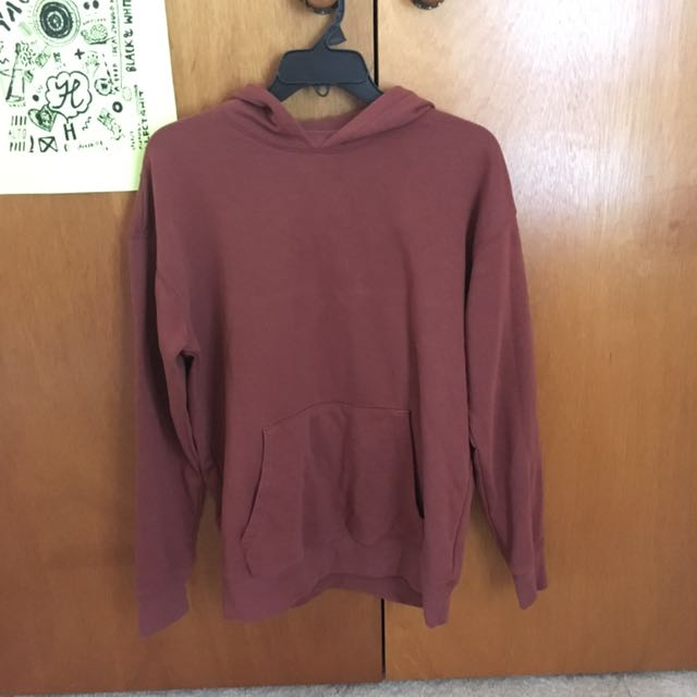 Muted Red Hoodie