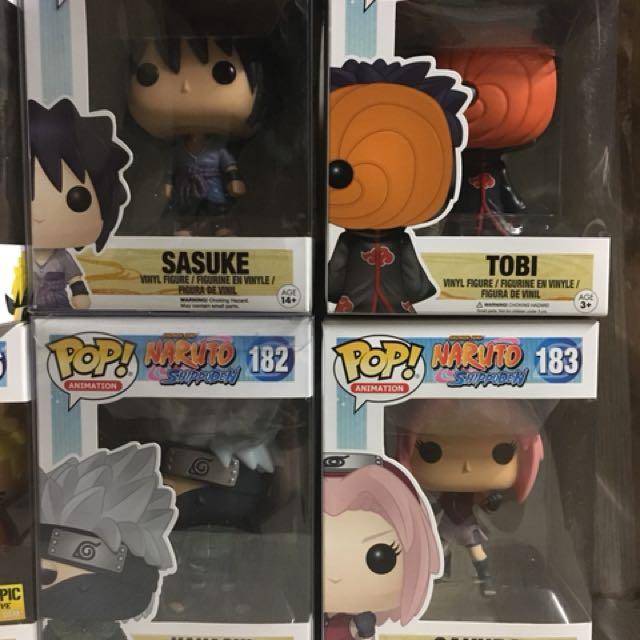 Naruto Line Funko Pops