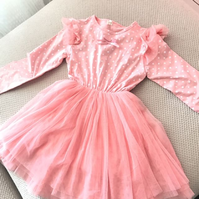 New girl dress Little angle dress size 13 Suitable height 90-120cm RM39 free postage