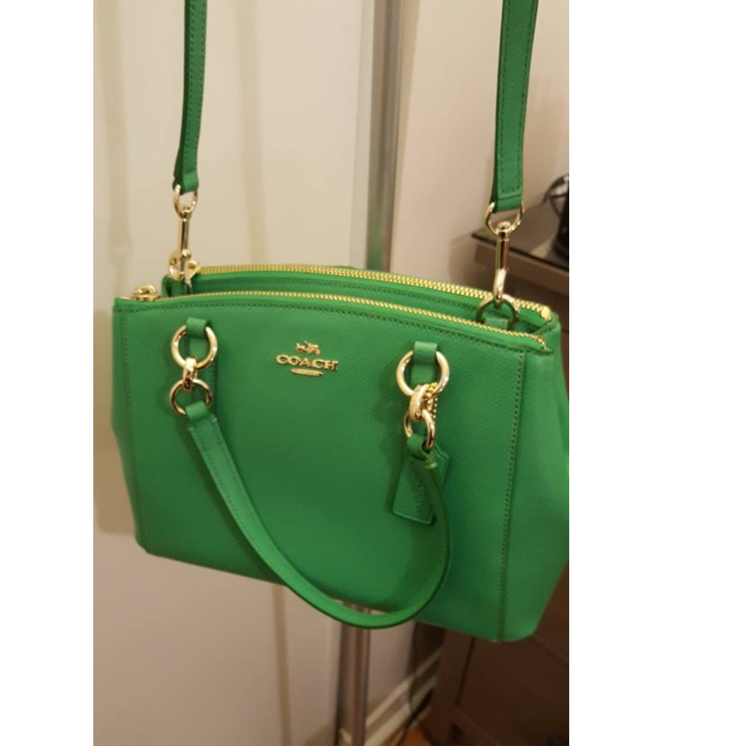 NEW Green Coach Crossbody WITH TAGS