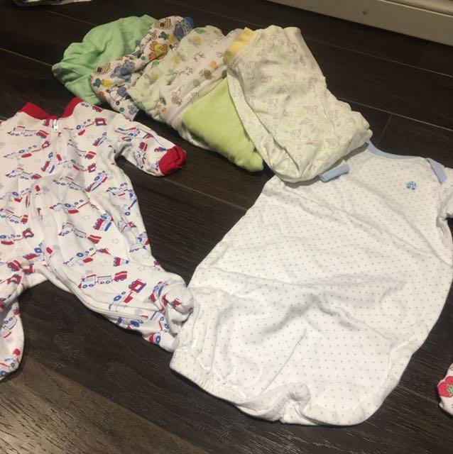 Newborn onesies 8 pack