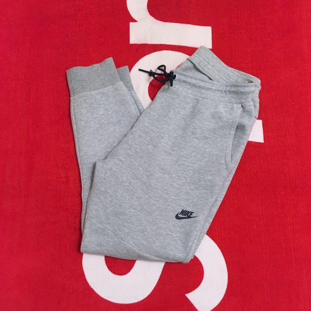 NIKE TECH FLEECE PANTS 灰色 棉褲