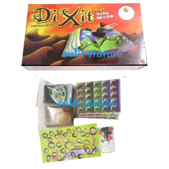 ODYSSEY DIX IT FAMILY FUN BOARD GAMES