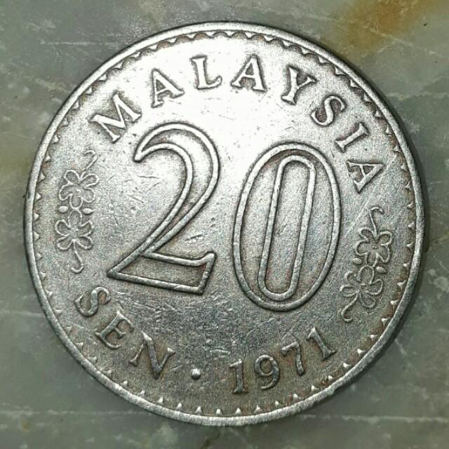 Old maysian coin