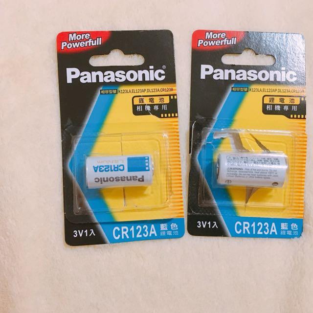 Panasonic 鋰電池(相機專用)CR123A