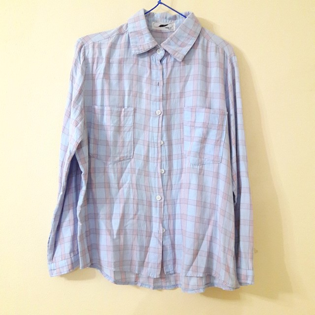 Pastel Blue Shirt