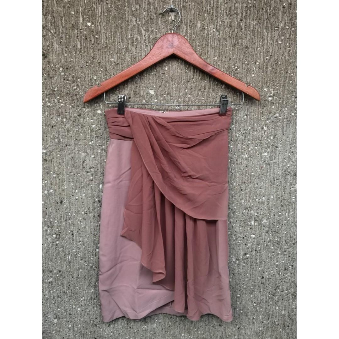 Peach Highwaist Skirt