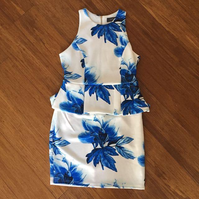 Peplum Dress - size small