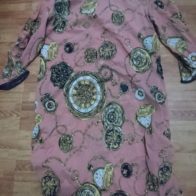 Pink See through Dress