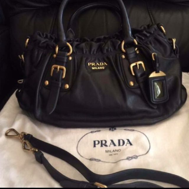 Prada soft calf