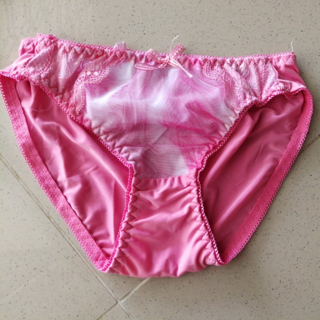 825bffcd4fb4 Prelove pink panties, Women's Fashion, Clothes, Bottoms on Carousell