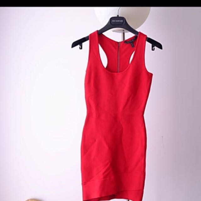 *price reduction*BCBG MAX AZRIA bandage dress xs