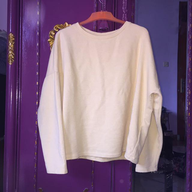 Pull & Bear Soft Yellow Sweater