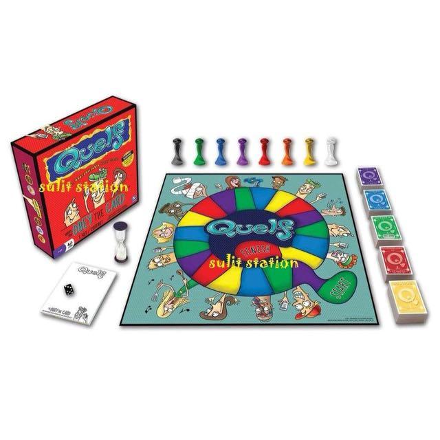 QUELF FAMILY FUN BOARD GROUP GAMES