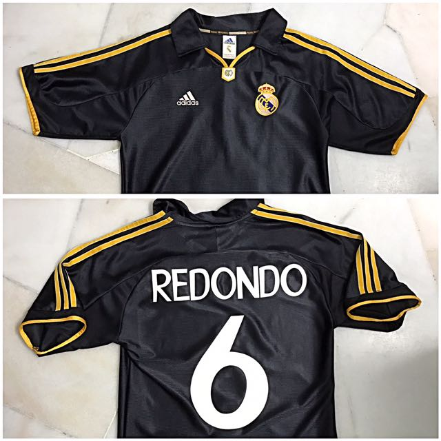 size 40 afb0f 625b7 Real Madrid AWAY 1999/00, size M altered to size S, used (9/10), nns