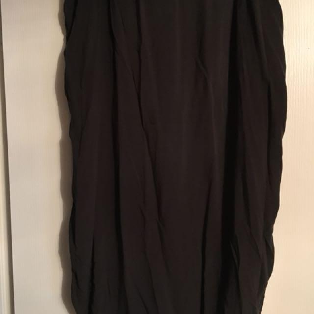 Roots silk skirt size xl