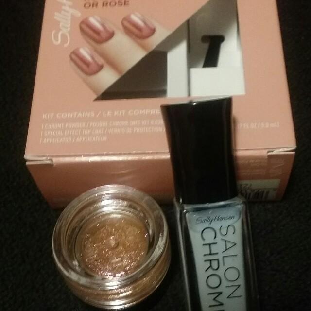 Sally Hansen Salon Chrome Rose Gold