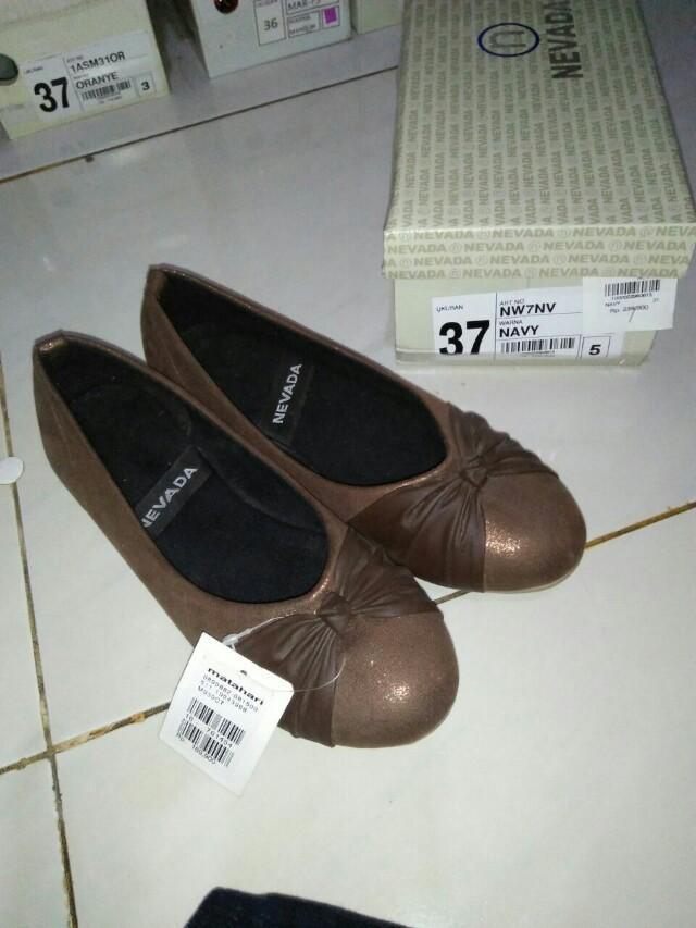 Sepatu flat nevada 024a980974