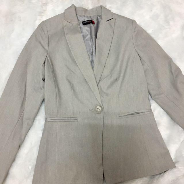 SM Career Women Gray Suit