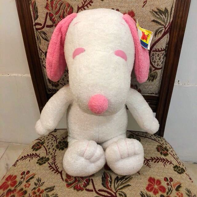 Snoopy Peanuts Pink Collared