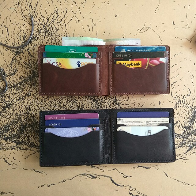 Special offer Leather handmade wallet *ready stock